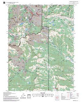 USDA Forest Service FSGeodata Clearinghouse FSTopo Forest - Us Digital Topographic Maps